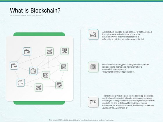 Use Case Of Blockchain Architecture Development What Is Blockchain Ppt Styles Background PDF