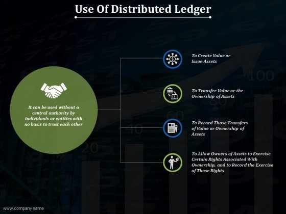 Use Of Distributed Ledger Ppt PowerPoint Presentation Professional Influencers