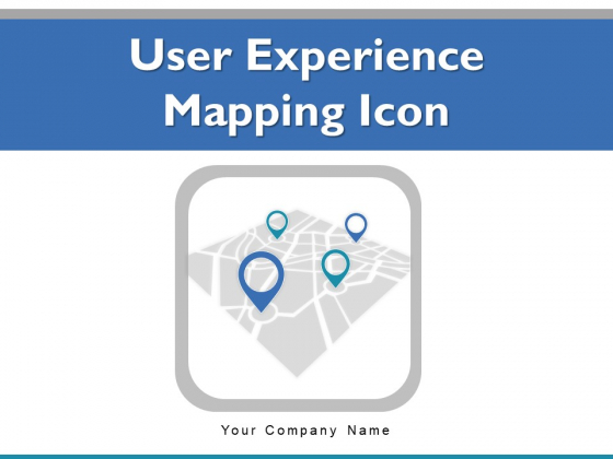 User Experience Mapping Icon Milestones Circled Blocks Ppt PowerPoint Presentation Complete Deck