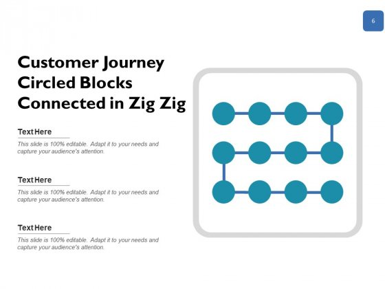 User_Experience_Mapping_Icon_Milestones_Circled_Blocks_Ppt_PowerPoint_Presentation_Complete_Deck_Slide_6