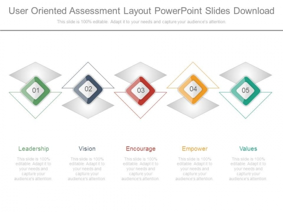 User Oriented Assessment Layout Powerpoint Slides Download