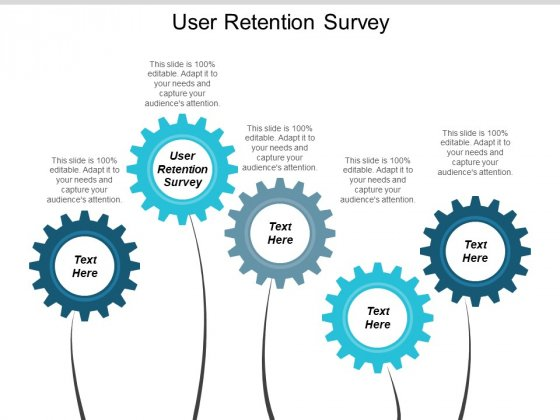 User Retention Survey Ppt PowerPoint Presentation Slides Slideshow Cpb