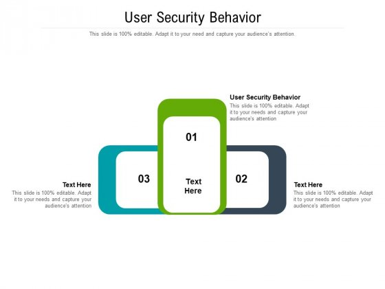 User Security Behavior Ppt PowerPoint Presentation Icon Influencers Cpb