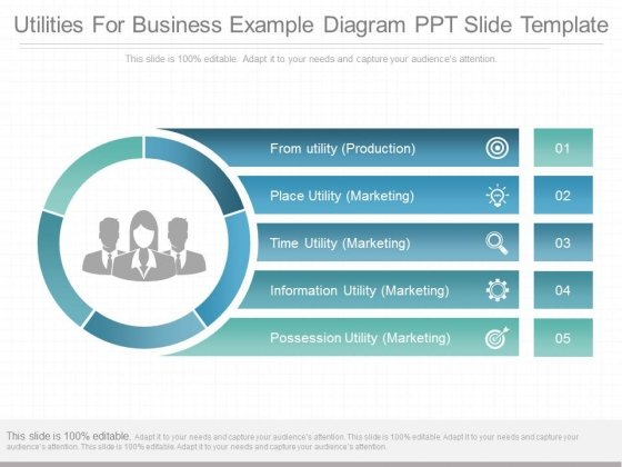 Utilities for business example diagram ppt slide template utilities for business example diagram ppt slide template powerpoint templates toneelgroepblik Images