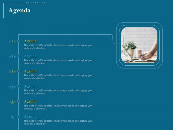 Utilizing Cyber Technology For Change Process Agenda Infographics PDF