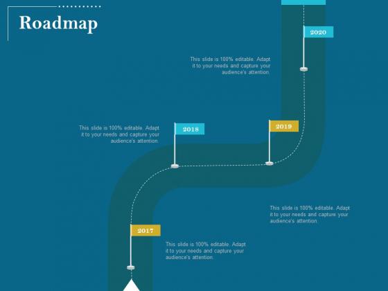 Utilizing Cyber Technology For Change Process Roadmap Mockup PDF