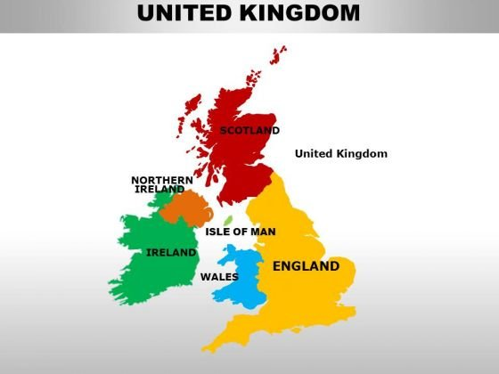 Uk England Country PowerPoint Maps  PowerPoint Templates