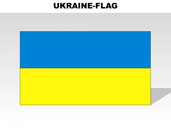 Ukranie Country PowerPoint Flags