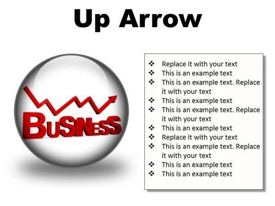 Up Arrow Business PowerPoint Presentation Slides C