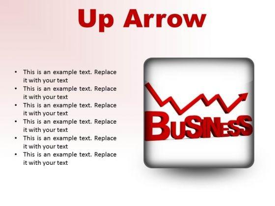 Up Arrow Business PowerPoint Presentation Slides S