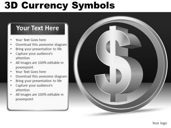Us Dollar Symbol For PowerPoint