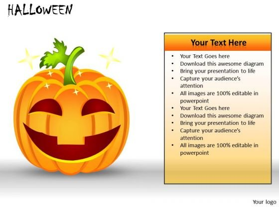 Us Pumpkin Halloween PowerPoint Slides And Ppt Diagram Templates