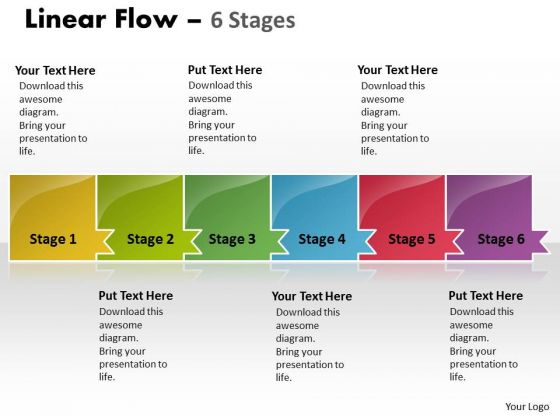 Usa PowerPoint Template Uniform Demonstration Ppt Of 6 Stages Business Plan 1 Image