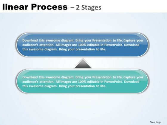 Usa Ppt Background Linear Process 2 Phase Diagram Business Plan PowerPoint 1 Graphic