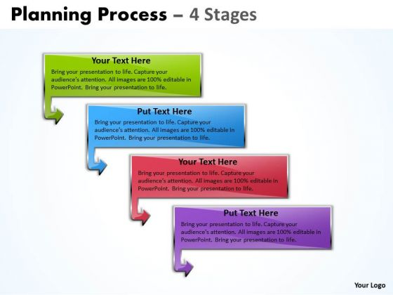 Usa Ppt Template Grouping Of 4 Process Operations Management