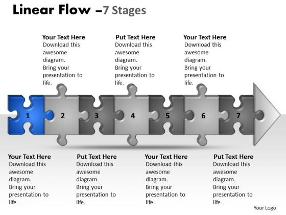 usa_ppt_theme_linear_flow_7_state_diagram_style1_project_management_powerpoint_2_image_1