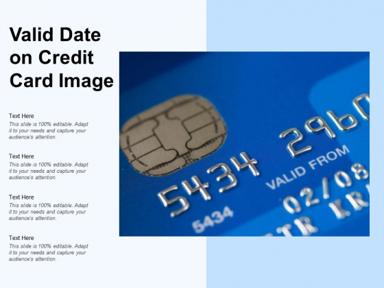 Valid Date On Credit Card Image Ppt PowerPoint Presentation Ideas Images