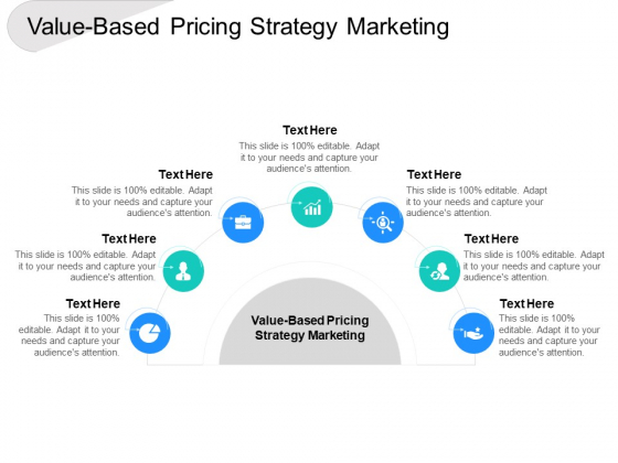 Value Based Pricing Strategy Marketing Ppt PowerPoint Presentation Gallery Template