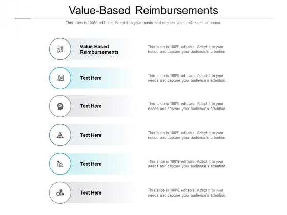 Value Based Reimbursements Ppt PowerPoint Presentation Outline Sample Cpb Pdf