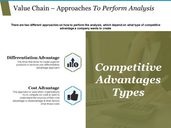 Value Chain Approaches To Perform Analysis Ppt PowerPoint Presentation Layouts Backgrounds