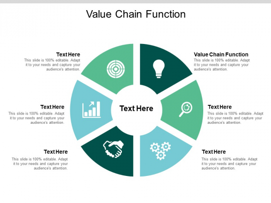 Value Chain Function Ppt PowerPoint Presentation Professional Brochure Cpb