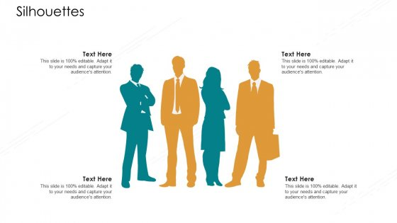 Value Chain Techniques For Performance Assessment Silhouettes Ppt Show Icon PDF