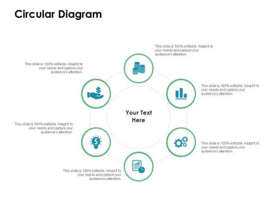 Value Creation Initiatives Circular Diagram Ppt Model Influencers PDF