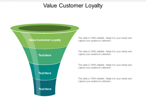 Value Customer Loyalty Ppt PowerPoint Presentation Ideas Cpb