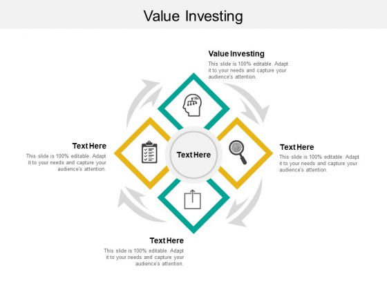 Value Investing Ppt PowerPoint Presentation Styles File Formats Cpb