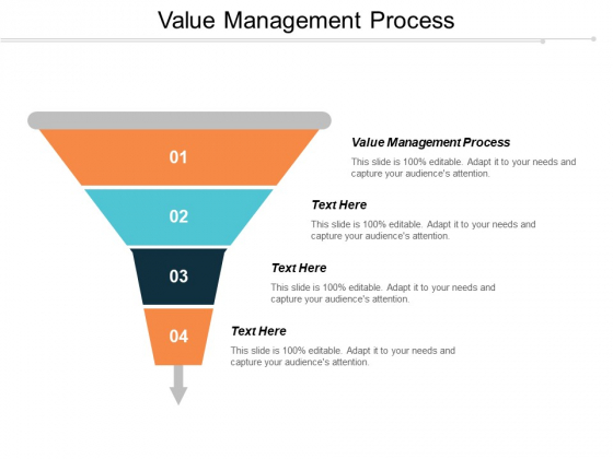 Value Management Process Ppt PowerPoint Presentation Infographics Elements Cpb
