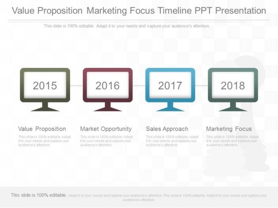 Value Proposition Marketing Focus Timeline Ppt Presentation