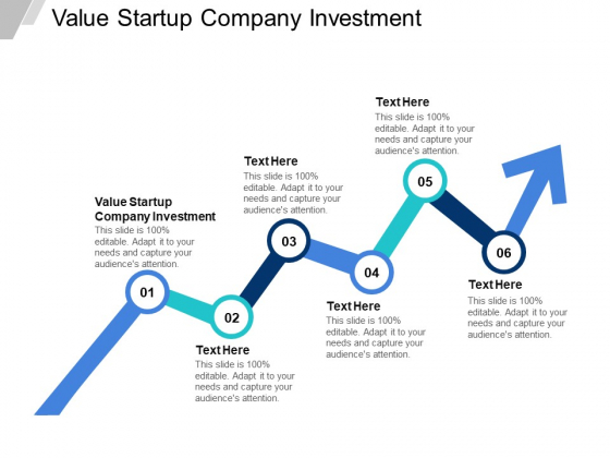 Value Startup Company Investment Ppt PowerPoint Presentation Model Influencers Cpb