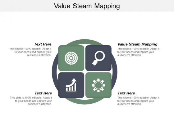 Value Steam Mapping Ppt PowerPoint Presentation Model Demonstration Cpb