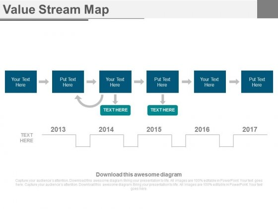 Value Stream Map Ppt Slides