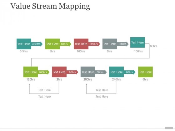 value stream mapping ppt powerpoint presentation portfolio templates