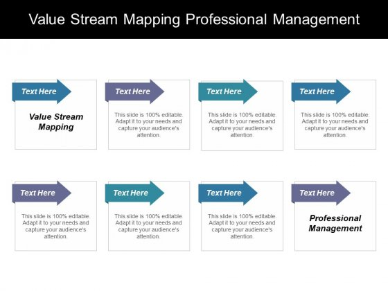 Value Stream Mapping Professional Management Ppt PowerPoint Presentation Layouts Professional