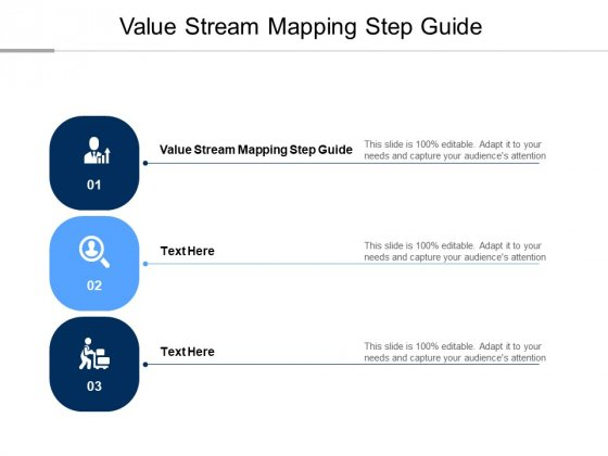 Value Stream Mapping Step Guide Ppt PowerPoint Presentation Styles Slideshow Cpb