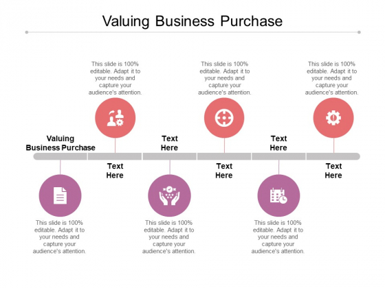 Valuing Business Purchase Ppt PowerPoint Presentation Show Slides Cpb