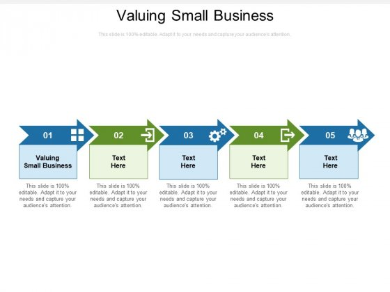 Valuing Small Business Ppt PowerPoint Presentation Gallery Influencers Cpb Pdf