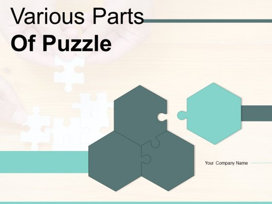 Various Parts Of Puzzle Market Research Ppt PowerPoint Presentation Complete Deck