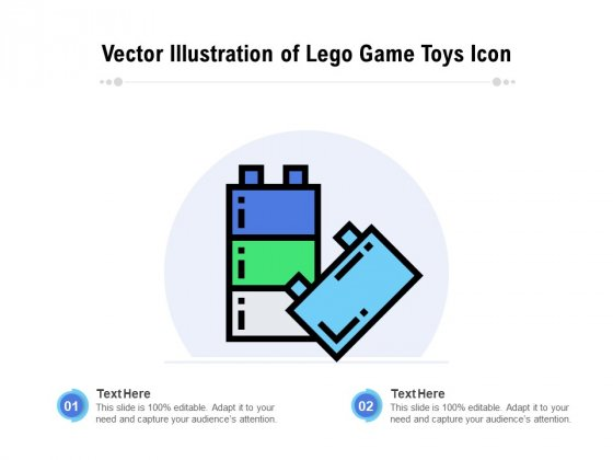 Vector_Illustration_Of_Lego_Game_Toys_Icon_Ppt_PowerPoint_Presentation_Gallery_Outfit_PDF_Slide_1