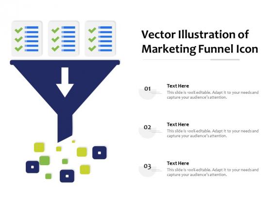 Vector Illustration Of Marketing Funnel Icon Ppt PowerPoint Presentation Summary Microsoft PDF