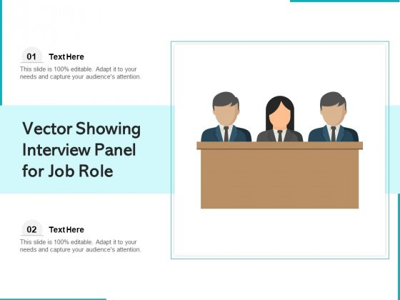 Vector_Showing_Interview_Panel_For_Job_Role_Ppt_PowerPoint_Presentation_Ideas_Skills_PDF_Slide_1