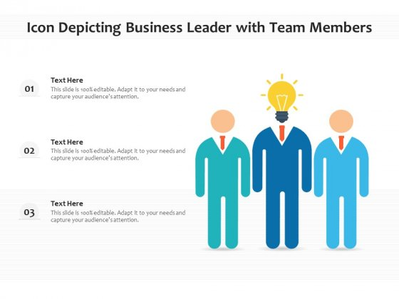 Vector Showing Team Of Professionals Icon Ppt PowerPoint Presentation Slides Inspiration PDF
