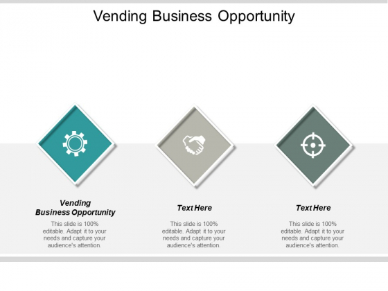 Vending Business Opportunity Ppt PowerPoint Presentation Visual Aids Background Images Cpb
