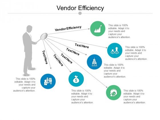 Vendor Efficiency Ppt PowerPoint Presentation Styles Outline Cpb