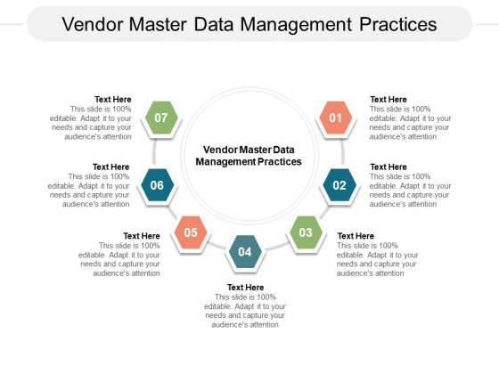 Vendor Master Data Management Practices Ppt PowerPoint Presentation Ideas Templates Cpb