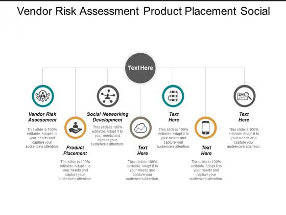 Vendor Risk Assessment Product Placement Social Networking Development Ppt PowerPoint Presentation Slides Images