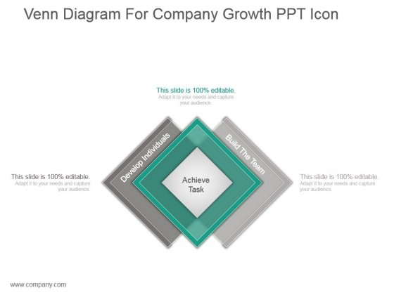 Venn diagram for company growth ppt icon powerpoint templates ccuart Image collections