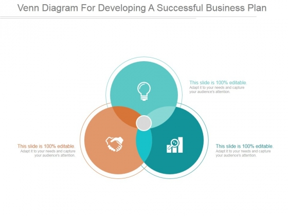 Venn diagrams powerpoint templates venn diagram for developing a successful business plan ppt powerpoint presentation inspiration ccuart Image collections